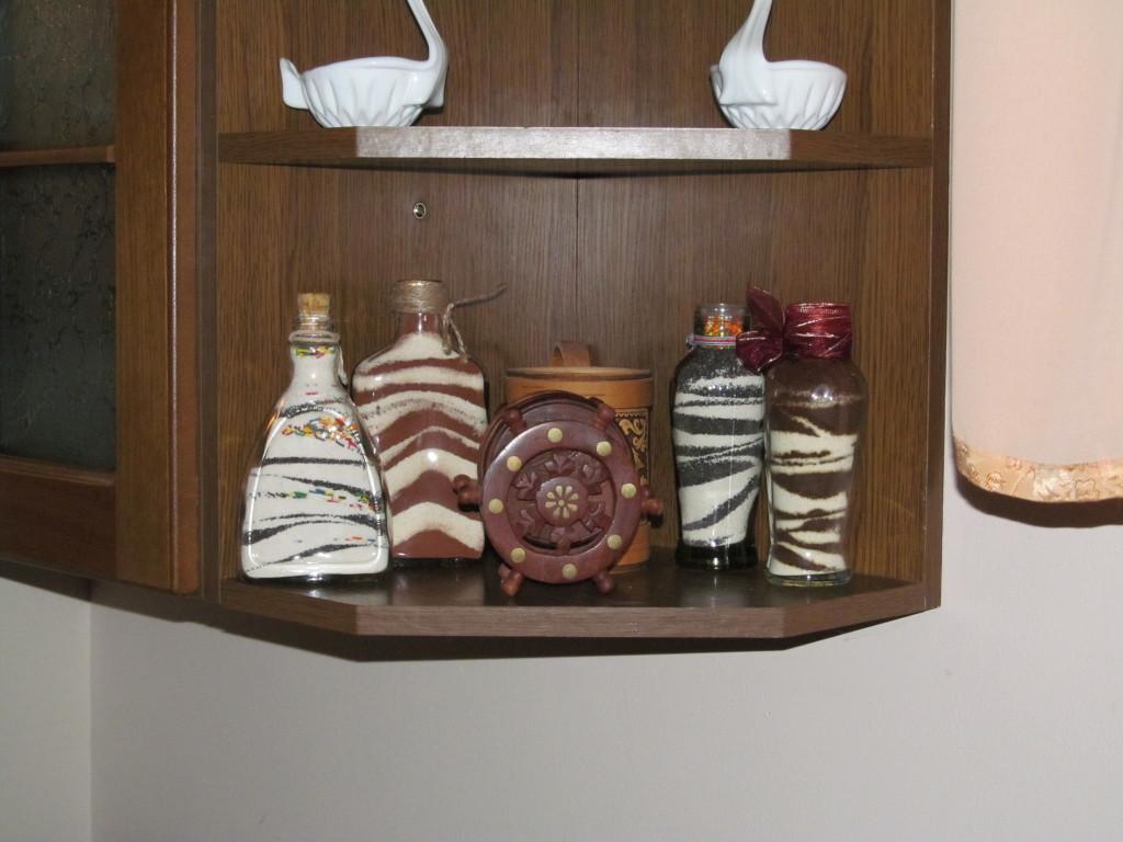 бутылки декоративные